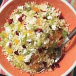 couscous dried fruit feta