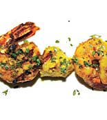 Curried Shrimp_pineapple