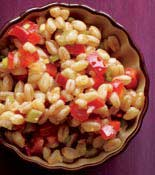 Farro Red Pepper Salad