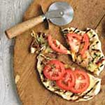French Onion Grilled Pizza
