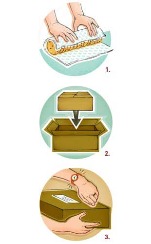 how to ship cookies