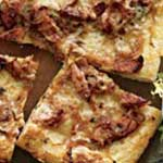 kielbasa onion pizza
