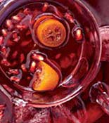 kumquat pomegranate punch