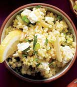 Millet Pilaf Almond Feta