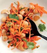 morroccan carrot chickpea salad