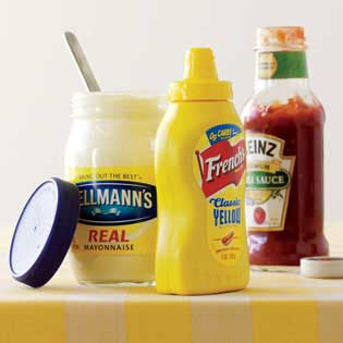 off shelf condiments
