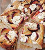 plum foccacia
