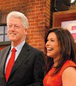 rachael ray and bill clinton