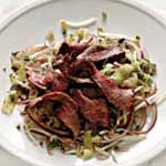Spicy Steak Salad