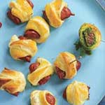 spicy pigs in blankets