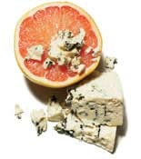 sweet and salty grapefruit