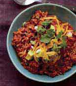 Tex Mex Brown Rice Chilli