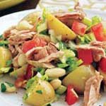 white bean tuna potato salad