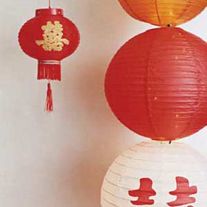 Chinese lantern/ Decorations