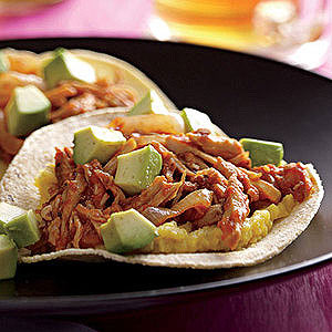 Open Face Pork Tacos