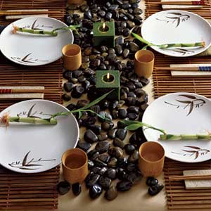table setting zen