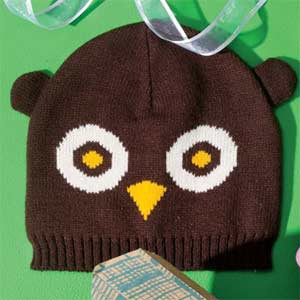 Faves Little Ones Owl Hat