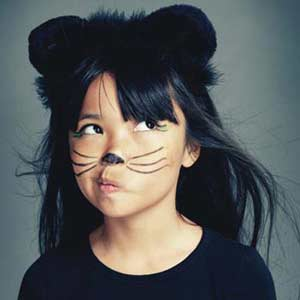 Kid's Halloween Kitty Makeover
