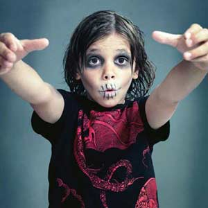 Kids Halloween Zombie Makeover