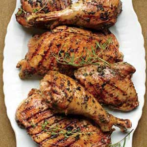 Grilled Chicken Pieces