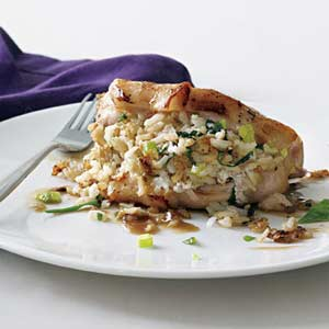 stuffed porkchops