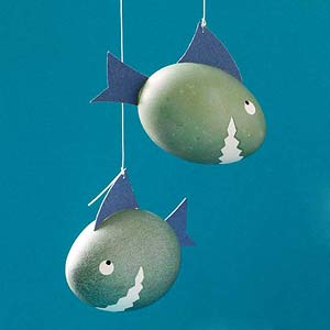 shark easter eggs