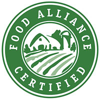 Food Alliance seal