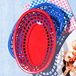 Plastic Serving Baskets