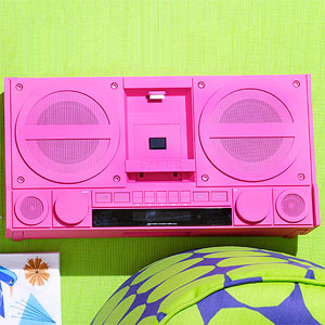 Retro Boombox