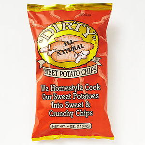 Dirty Sweet Potato Chips