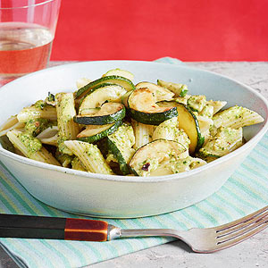 Zucchini & penne