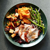 First-Timer Thanksgiving Menu