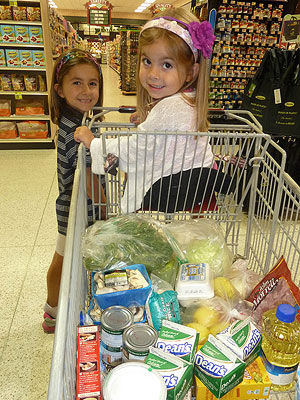 Daughters in Cart