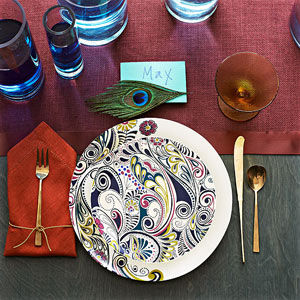 Casbah cool table setting