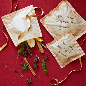 Fireplace sachets