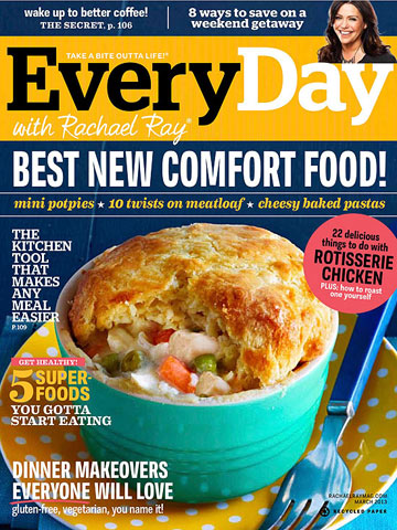What?s In the Issue: March 2013 Every Day with Rachael Ray