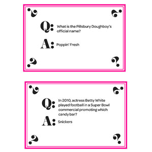 Trivia Cards - All the Cards