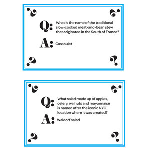 Trivia Cards, Page 2