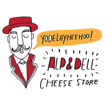 The Alp and Dell Cheese Store