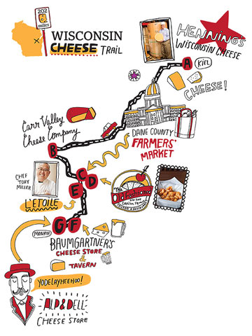 Wisconsin: Cheese Trail