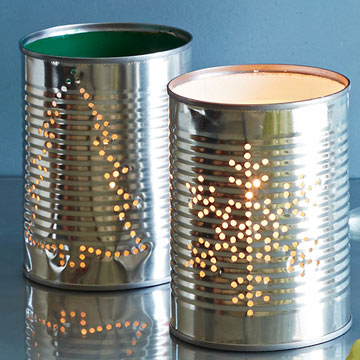 Tin Can Votives