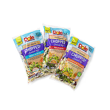 Dole All Natural Chopped Salad Kits