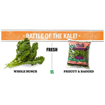 Battle of the Fresh Kale
