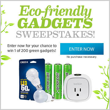Eco-Gadget Sweeps