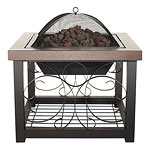 Fire Sense Convertible Fire Pit Table