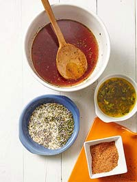 Sauces, Rubs and Marinades