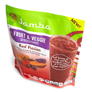 Jamba Red Fusion Fruit & Veggie Smoothies