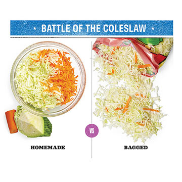 Battle of the Coleslaw