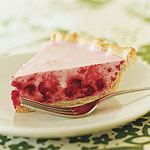 Chilled Raspberry Cream Pie