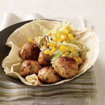 Chipotle-Chicken Meatballs
